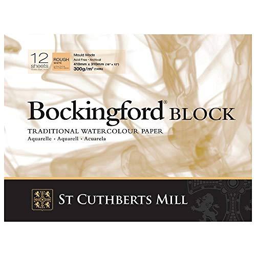- Bockingford 300gsm Block 12