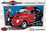 Batman Harley Quinn Volkswagen Beetle 1:24 Scale Snap-Fit Model Kit by Round 2