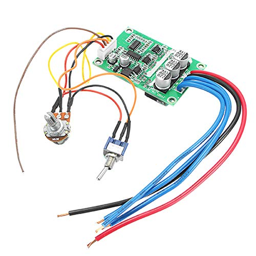 1pc DC 12V-36V 500W High Power Brushless Motor Controller Driver Board Assembled No Hall (High Power Brushless Motor)