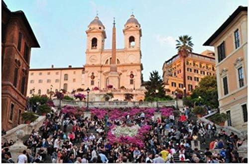 ZZXSY Puzzle 1000 Piezas Educa La Plaza De España En Roma Italia Adecuado para La Decoración del Hogar.: Amazon.es: Hogar