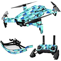 MightySkins Skin for DJI Mavic Air Drone - Blue Kaleidoscope | Max Combo Protective, Durable, and Unique Vinyl Decal wrap cover | Easy To Apply, Remove, and Change Styles | Made in the USA