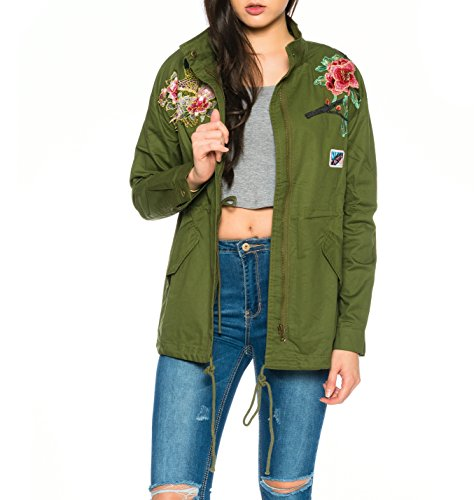 Damen jacke mit patches