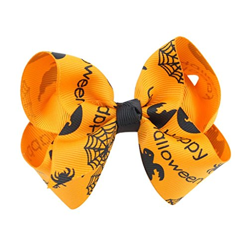 Bowknot Halloween Hairpin Hair Bow Clip Barrette Accessories