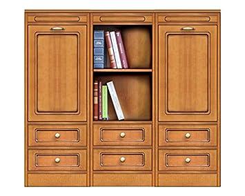 Credenza Bassa Con Cassetti : Arteferretto credenza libreria modulare bassa con 3 elementi 6