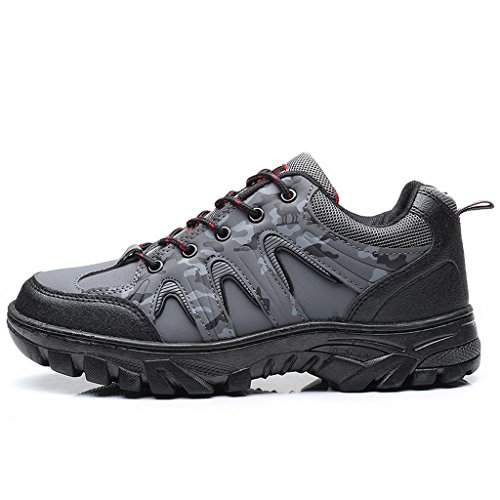 2017 Herbst Winter Männer Outdoor Wanderschuhe Rutschfeste Camouflage Trekking Schuhe 40-44 Gray