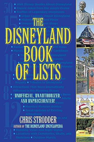 The Disneyland Book of Lists