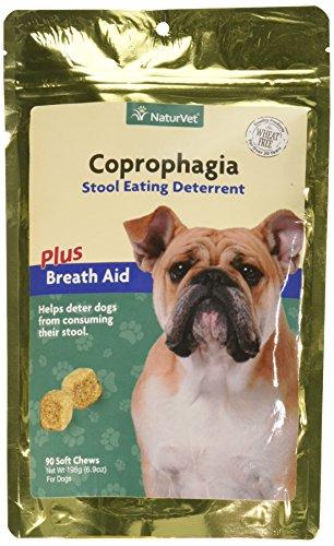NaturVet Coprophagia Deterrent Soft Chews (90 ct)