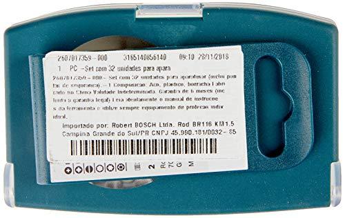 Kit de Pontas Bosch para parafusar com 32 unidades