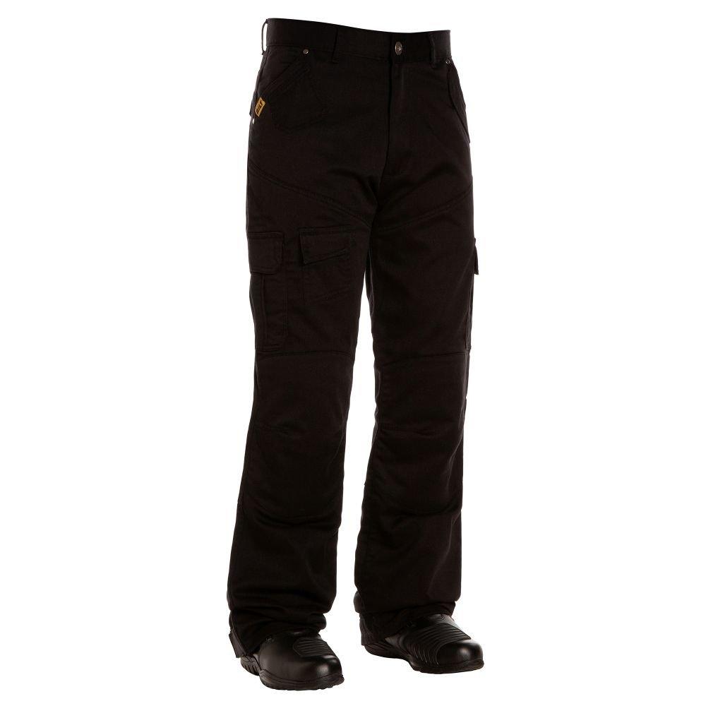 BILT IRON WORKERS Motorcycle Cargo Pants - 30, Black