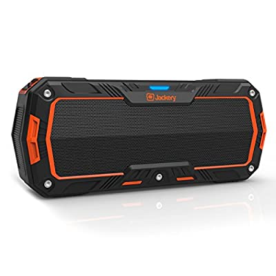 Jackery Boom 10W Bluetooth 4.1 IP65 Water Resistant Dustproof Rugged Portable Charger Speaker Perfect for Biking, Hiking Play, Jackery Empowers Your Mobile Outdoor Life On The Go with Bike Mount