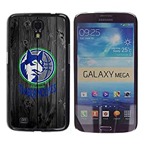Impact Case Cover with Art Pattern Designs FOR Samsung Galaxy Mega 6.3 Minnesota Wolves Basketball Betty shop