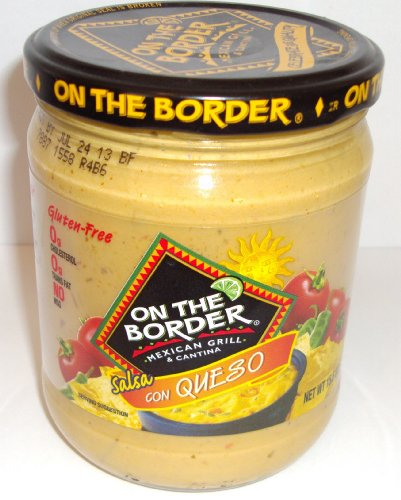 Salsa Con Queso Dip (On the Border Salsa con Queso - Cheese Dip - 15.5 Oz Jar (Pack of 4))