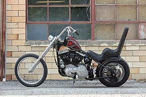Dasen Fork Tube 4in Extensions For 39mm Harley Davidson Sportster 883 1200 XL Dyna Glide & FXR