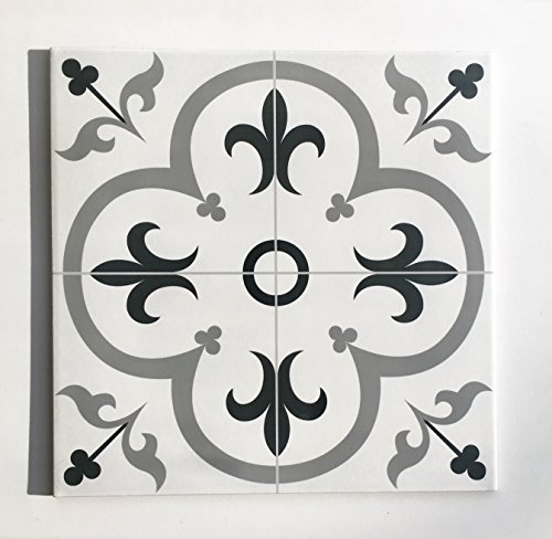 Valencia 16 inch x 16 inch Floor Tile by Squarefeet Depot