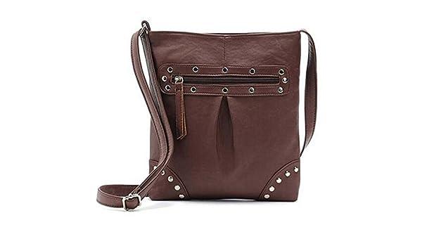 8bca802bca70 KDHJJOLY Practical 2016 Famous Women Messenger Bag Handbag Fashion Female  Leather Handbags Brand Tote Shoulder Bags Spain Sac Coffee21x24cm Chic   Handbags  ...