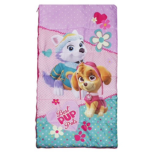 Paw Patrol Girls Sleeping Bag with Carry Sling by Paw Patrol (Image #1)