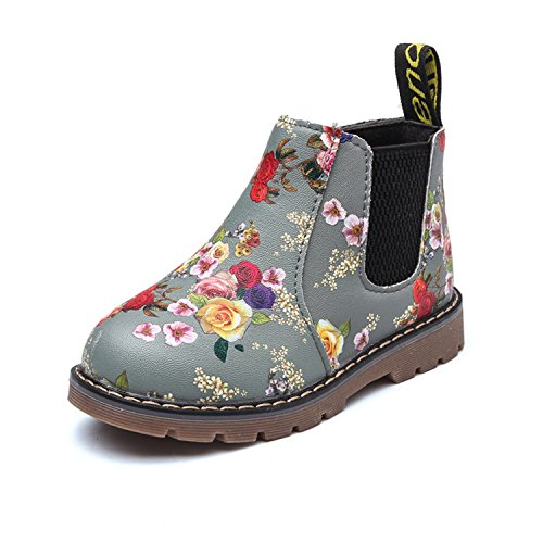 Baqijian Boots Children Boots Boys Sneakers Flowers Boot Girls Sneakers EU 21~36 Same As Picture - Pakistan Girl Pictures