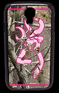 Ships From U S A Country Girl Camo and Pink Buck Samsung Galaxy S4 S Iv Snap-on Case