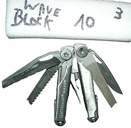 Alicate Multi uso Block leathermann Cassia o óxido il est garantía a vida