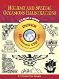 Holiday and Special Occasions Illustrations CD-ROM and Book (Dover Electronic Clip Art)