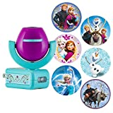Disney Projectables Frozen LED Plug-in Night Light, Six-Image, 25282, Six Different Images Project onto Wall or Ceiling