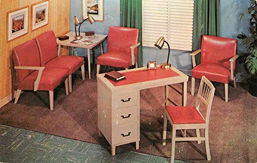 Office Furniture Advertising Murphy-Miller US Naugahyde PC JA4742076