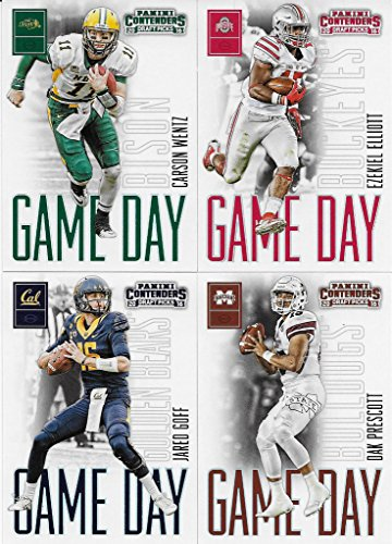 2016-panini-contenders-draft-picks-game-day-43-card-rookies-set-including-ezekiel-elliott-carson-wen