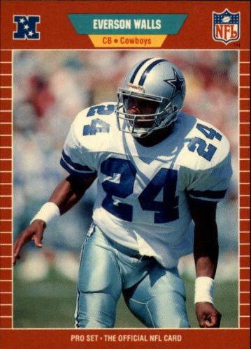 1989 Pro Set Football Card #97 Everson - Everson Walls