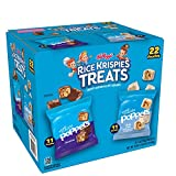 Kellogg's Rice Krispies Treats Poppers Marshmallow Squares Variety Pack 22ct