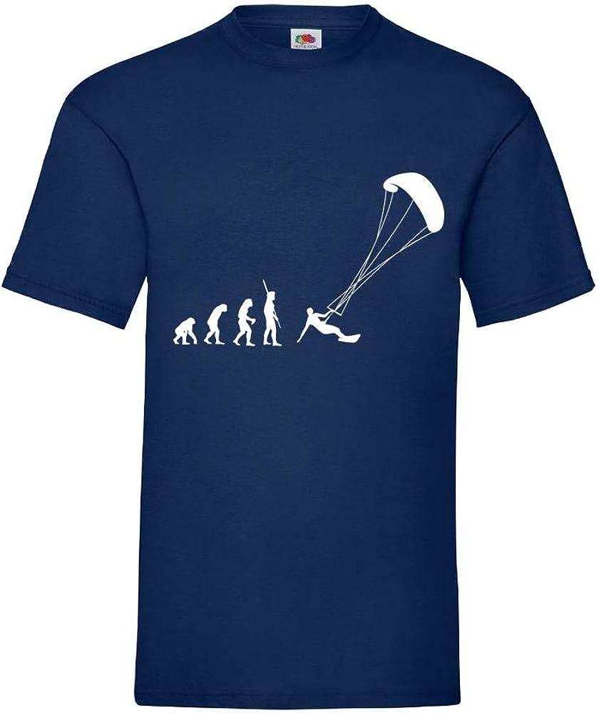 Generisch Evolution Kite Surf Hombre Camiseta - shirt84 ...