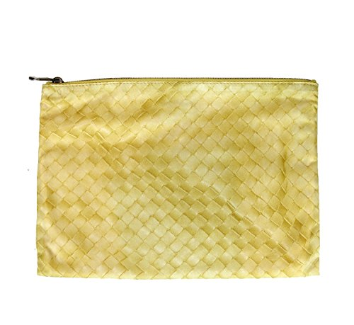 Bottega Veneta Yellow Pouch Cosmetic Bag 301493 9441 by Bottega Veneta