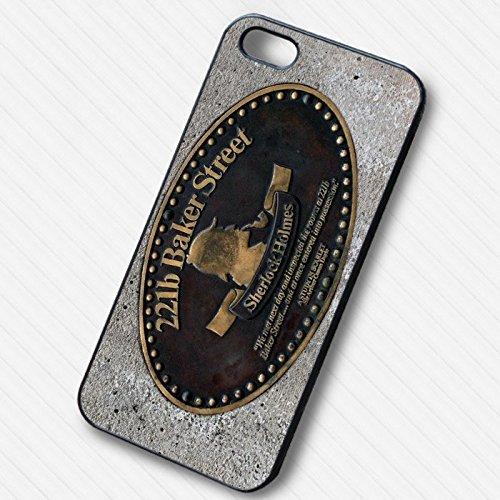 221 Baker Street Sherlock Holmes - pour Coque Iphone 6 et Coque Iphone 6s Case (Noir Boîtier en plastique dur) N6P4TQ