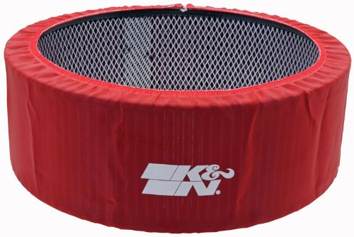 Red Air Filter Wrap - 8