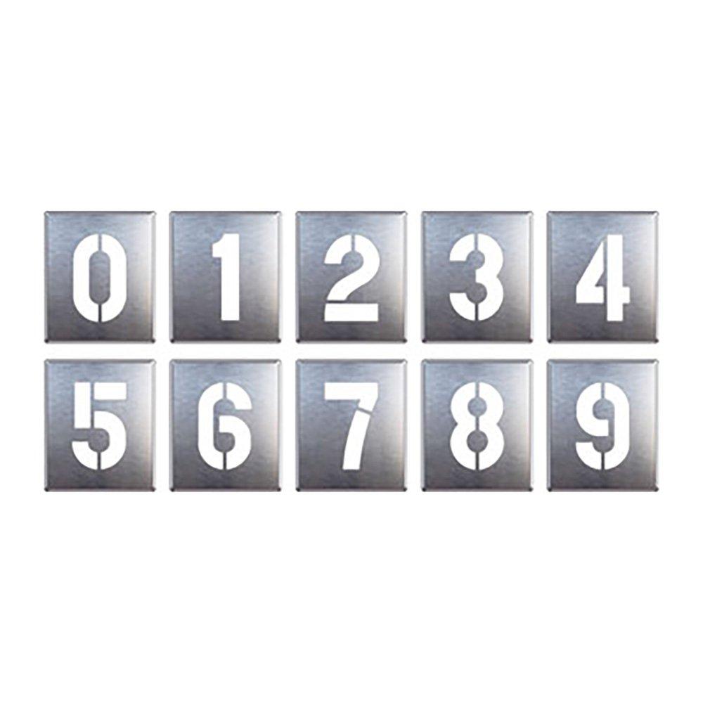 【819-35A】吹付け用プレート 09(10枚1組) B071X4KHH3