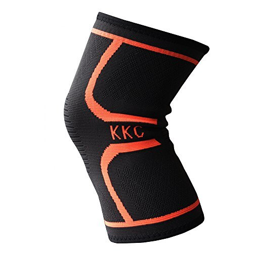 Knee Brace Sleeves Support for MenWomen Arthritis,Running,Jogging,Basketball,Climbing Sports,Injuries Protection,Handmade Knit Compression Sleeve