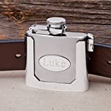 Personalized Stainless Steel Belt Buckle Flask
