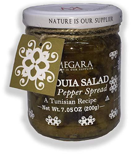 (Mechouia Salad Grilled Pepper Spread by La Megara, 7.05 Oz – Imported From Tunisia (Single) )