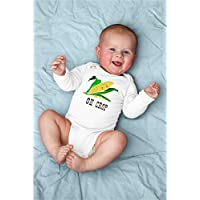 Funny Oh Crop Corn Baby Bodysuit With Agriculture, Horticulture Future Little Farmer or Farm Help
