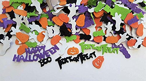 Nikki's Knick Knacks 252 Piece Happy Halloween Trick or Treat Foam -