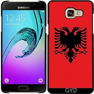 Funda para Samsung Galaxy A5 2016 (SM-A510) - Bandera De Albania Auténtica by BruceStanfieldArtist
