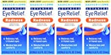 Bausch & Lomb Advanced Eye Relief Instant Redness Reliever, 0.5-Ounce Bottles (Pack of 4)
