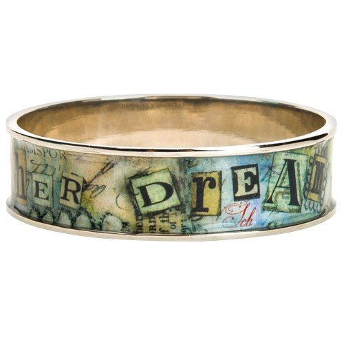 Santa Barbara Design Studio Wide Bangle from Artist Sally Jean, Her (Dream Bangle)