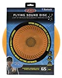 Flying Sound Disc - Light-Up and Bluetooth Speaker Throwing Disc -Red