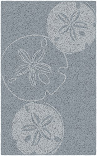 Brumlow Mills EW10166-30×46 Blue Sand Dollars Seashell Beach Area Rug, 2'6 x 3'10 Review