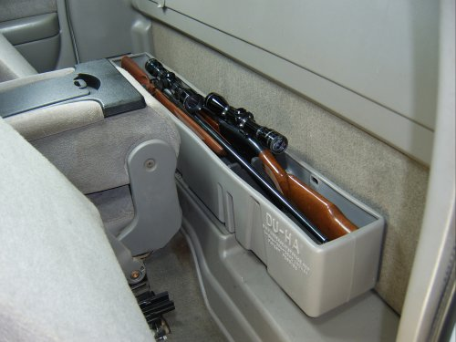 Part #10026 Black DU-HA Behind-the-Seat Storage Fits 99-07 Chevrolet//GMC Silverado//Sierra Regular Cab