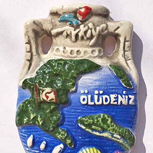 Wedare Antalya Turquie 3D gouvernail Aimant de r/éfrig/érateur Autocollant Souvenirs de Voyage Maison et d/écoration de Cuisine Turquie Aimant de r/éfrig/érateur /à partir de Chine