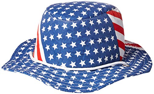 Patriotic Flag Hat (stars & stripes design) Party Accessory  (1 -