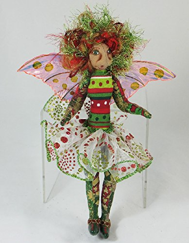 Cloth Doll Fairy, Crissa the Faery Art Doll, OOAK Doll, Handmade Doll, Collector Doll