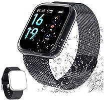Montre Connectée Femmes Homme Smartwatch Montre Sport Podometre Cardiofrequencemètre Montre Intelligente Etanche...