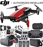 DJI Mavic Air Drone Quadcopter Fly More Combo (Flame Red) + DJI Goggles FPV Headset (Racing Edition) VR FPV POV Experience Bundle